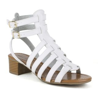Mark and Maddux Women's Stanley-01 Gladiator Style Sandals