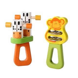 Wonderworld Toys Safari Tambourine Set