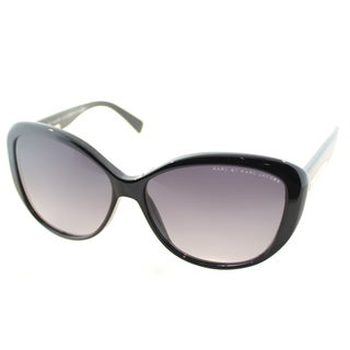 Marc by Marc Jacobs Womens MMJ 443 807 Black Plastic Cat Eye Sunglasses