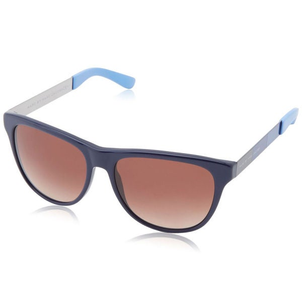 Marc by Marc Jacobs Unisex MMJ 408 6WC Blue Plastic Square Sunglasses