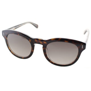 Marc by Marc Jacobs Unisex MMJ 433 KRZ Havana on Crystal Plastic Rounded Sunglasses
