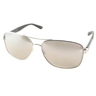 Marc by Marc Jacobs Mens MMJ 431 KU9 Palladium Metal Aviator Sunglasses