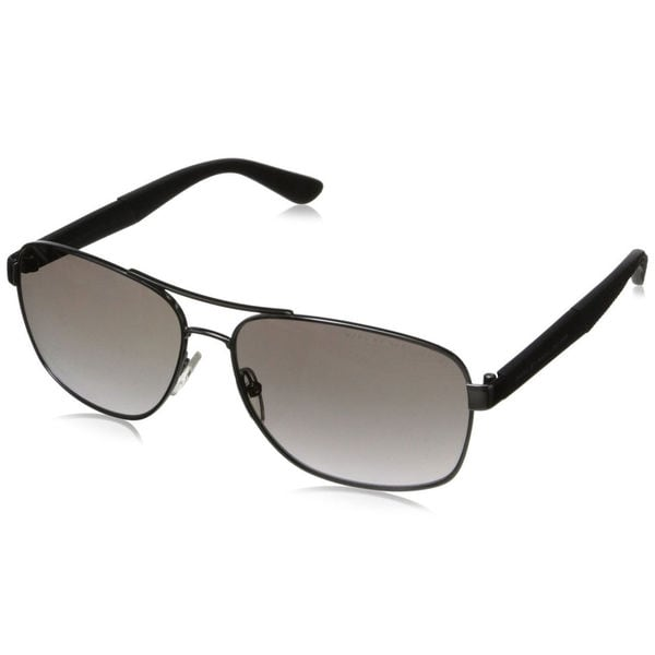 Marc by Marc Jacobs Mens MMJ 431 67G Dark Ruthenium Metal Aviator Sunglasses