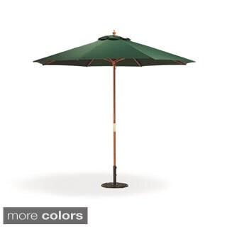 Oxford Garden Octagon 9-foot Canvas Market Umbrella