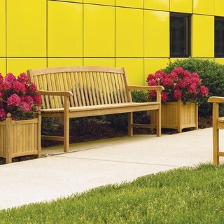 Oxford Garden Planters 15-inch Square Planter