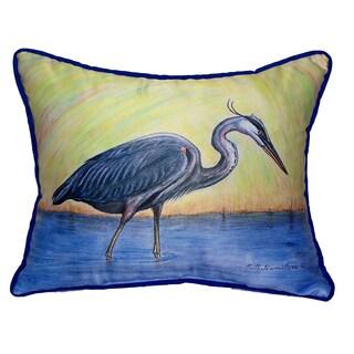 Blue Heron 16x20-inch Indoor/Outdoor Pillow