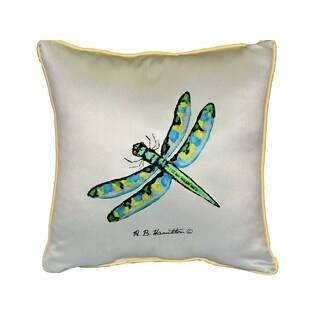 Dragonfly 18-inch Indoor/Outdoor Pillow