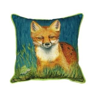 Red Fox 18-inch Indoor/Outdoor Pillow