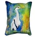 D&B's Blue Heron 16x20-inch Indoor/Outdoor Pillow