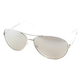 Marc by Marc Jacobs Unisex MMJ 343 010 SS Palladium Metal Aviator Sunglasses