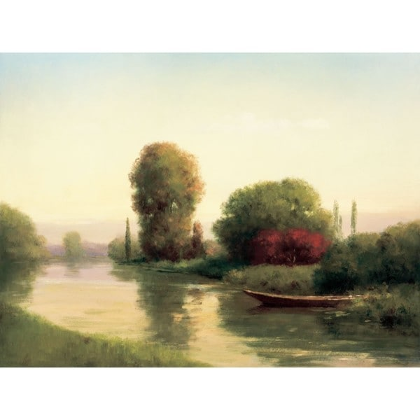 Udell-By the Riverside 40 x 30 Gallery Wrap Canvas