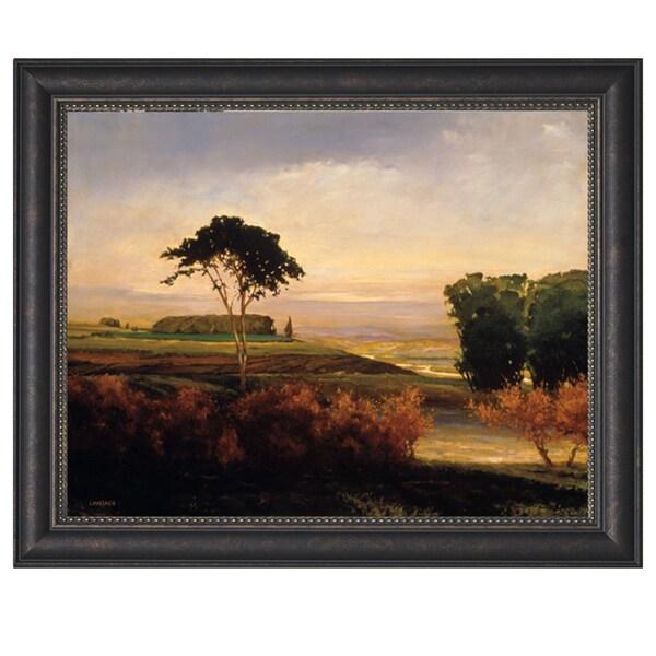 Kent Lovelace- Distant Valley 48 x 36 Framed Art Print