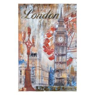 Renwil 'City Slicker I' Gallery Wrapped Wall Decor