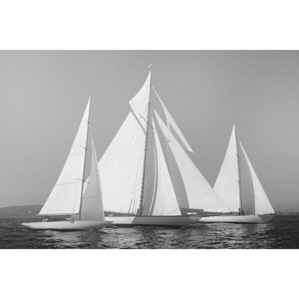 Xaview Ortega 'Sailing Together' Gallery Wrap Canvas