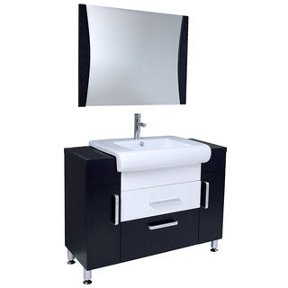 Fresca Vita Modern Bathroom Vanity w/ Wenge Wood Finish