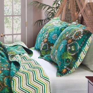 Greenland Home Fashions Tiki Hut Pillow Sham Set