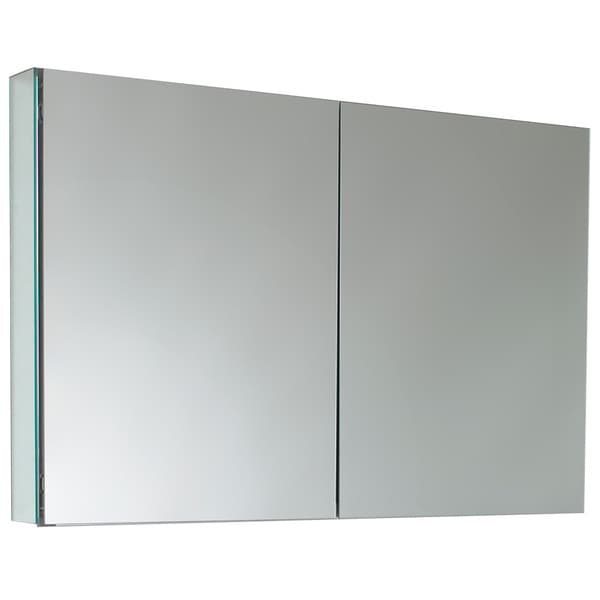 fresca 40 inch wide bathroom medicine cabinet with mirrors overstock
