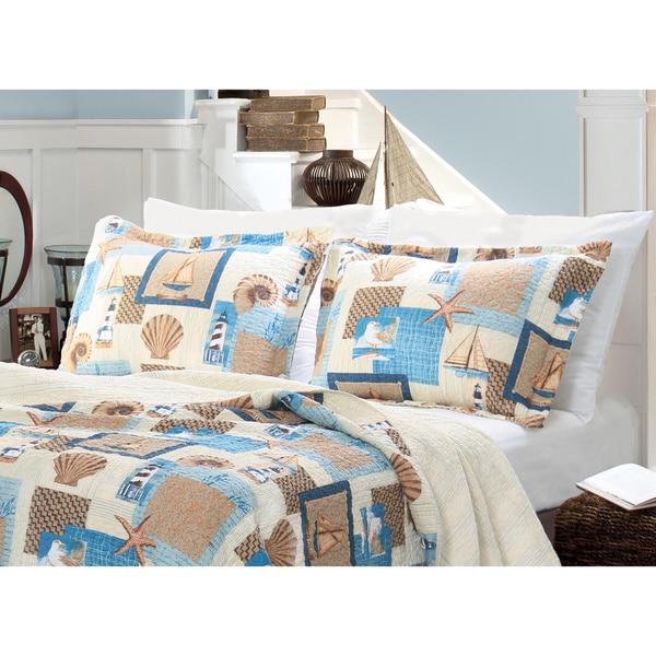 Greenland Home Fashions Beachcomber Pillow Sham Set 15051195