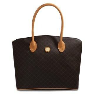 Rioni Signature Brown 'Lacie' Bag