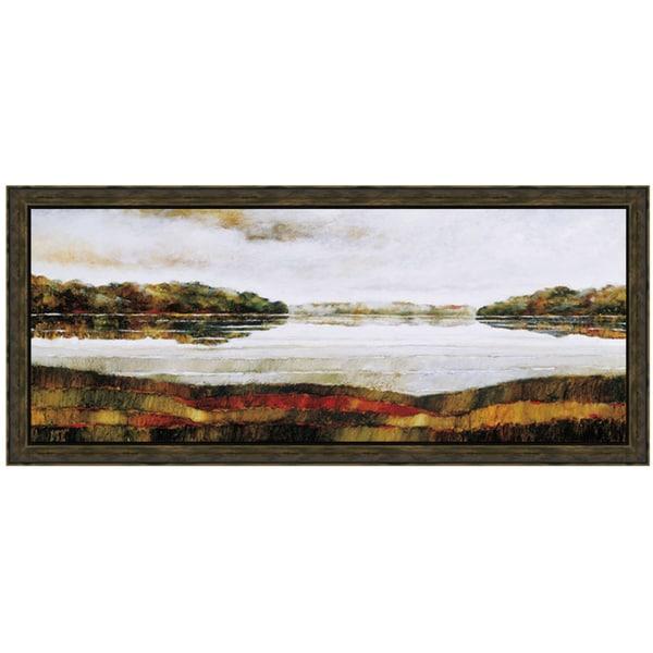 Zenon Burdy-Haliburton Lake 40 x 22 Framed Art Print