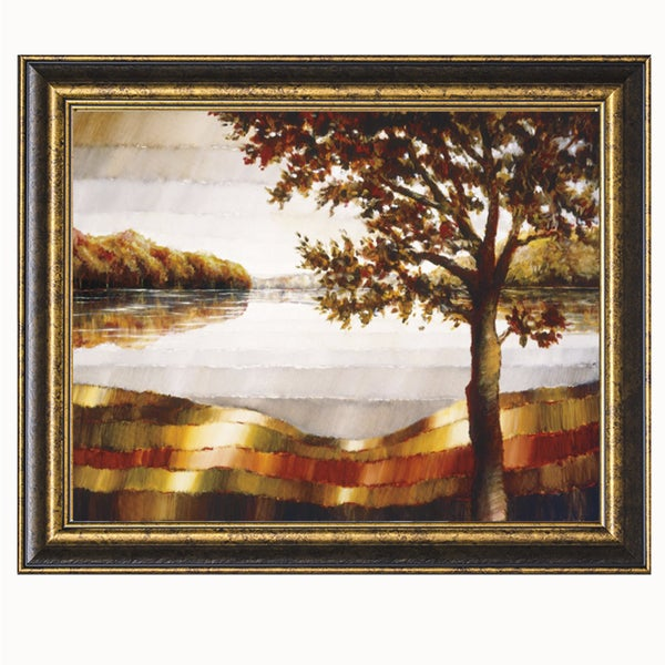 Zenon Burdy Lake Mamry Framed Art Print