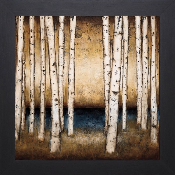 Patrick St.Germain-Birch Landing 40 x 40 Framed Art Print