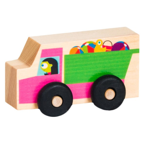 PBS KIDS My Little Scoot Wooden Dump Truck