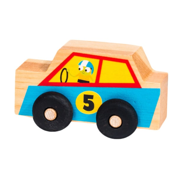 PBS Kids My Little Scoot Wooden Sports Car