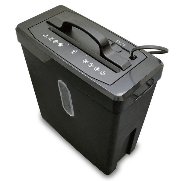 SimplyShred 8-sheet Cross-cut Push Down Paper Shredder