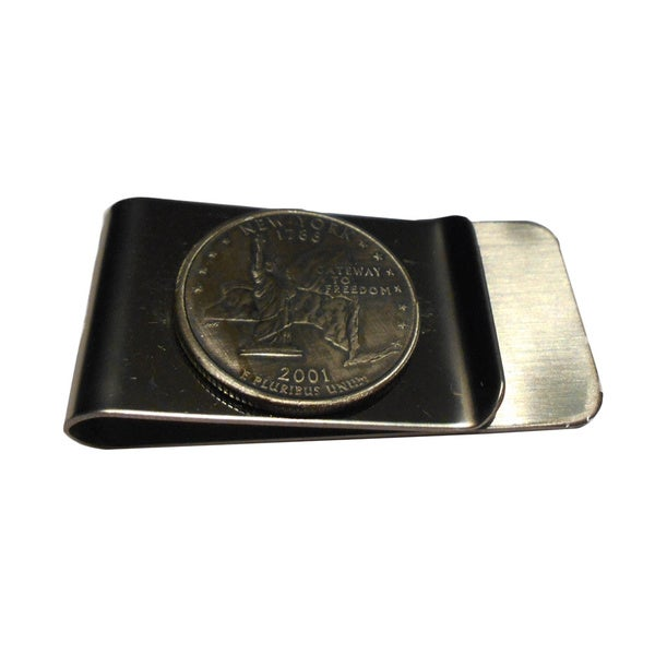 New York State Quarter Money Clip