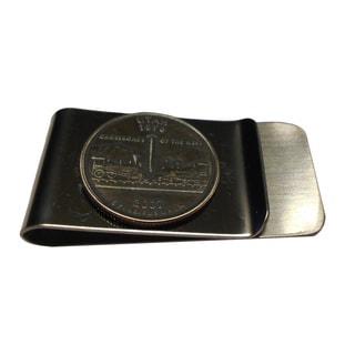 Handmade Utah State Quarter Coin Money Clip