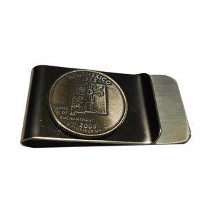 Handmade New Mexico State Quarter Coin Money Clip