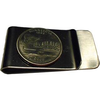 Handmade Minnesota State Quarter Coin Money Clip