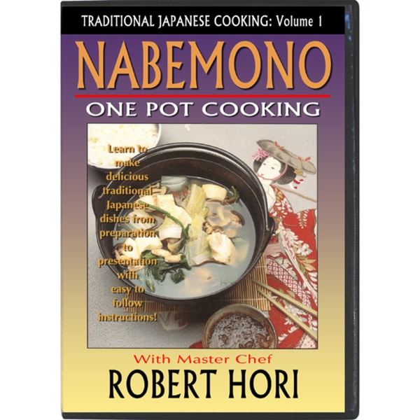 Traditional Japanese One Pot Cooking Cookbook Nabemono How To DVD Chef Robert Hori