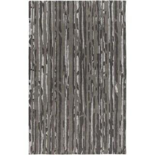 Candice Olson :Hand-Tufted Walter Abstract Indoor Rug (9' x 13')