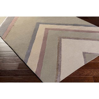 Candice Olson :Hand-Tufted Wright Classic Indoor Rug (8' x 11')