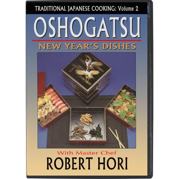 Traditional Japanese Cooking New Year Day Oshogatsu DVD