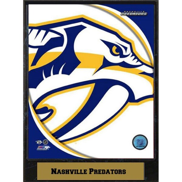 Nashville Predators Logo Plaque (9x12)