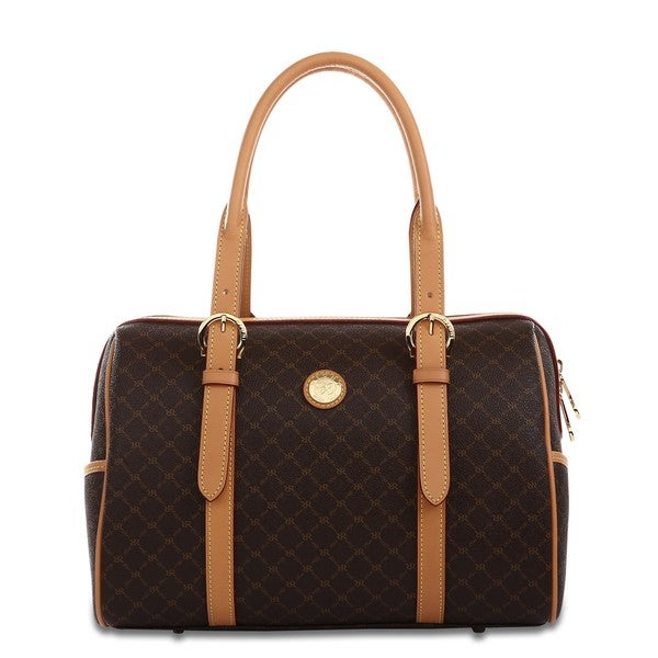 Rioni Signature Brown The Michigan Carrier Bag