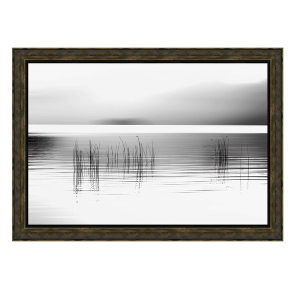 Marvin Pelkey-Tranquil Dawn 40 x 28 Framed Art Print