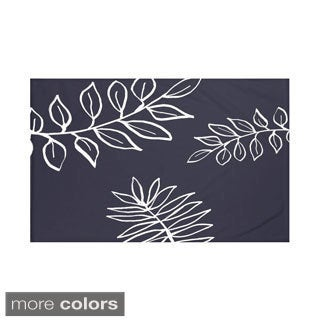 60 x 80-inch Floral Print Throw Blankets