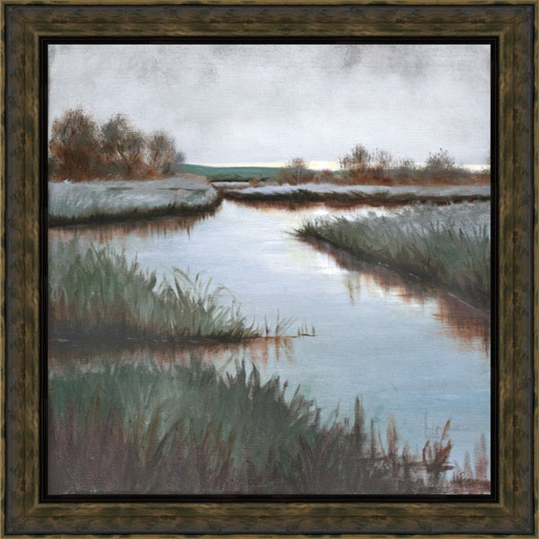 Julie Peterson-Grey Day 31 x 31 Framed Art Print