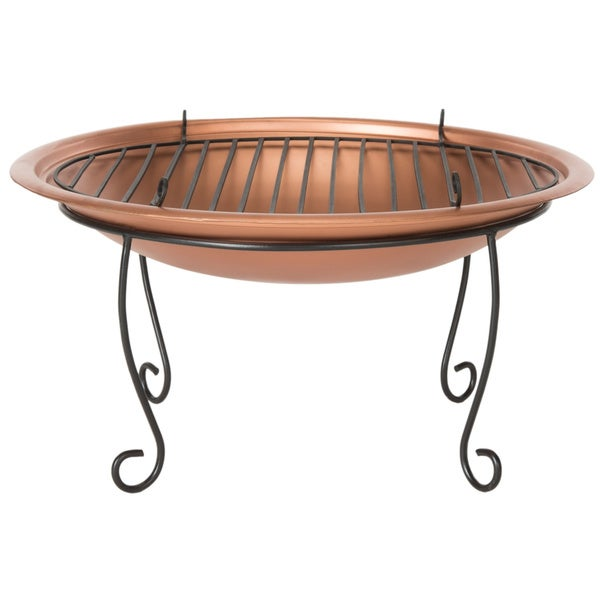 Safavieh Cayman Copper/ Black Fire Pit