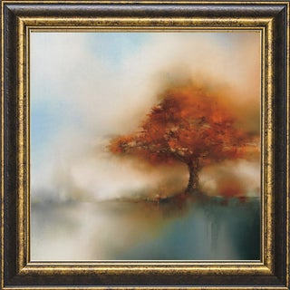 J.P. Prior-Morning Mist & Maple l 22 x 22 Framed Art Print