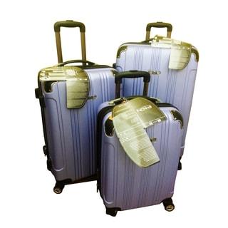 Travel Concepts Violet 3-piece Hardside Spinner Luggage Set