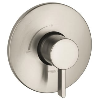 Hansgrohe S Pressure Balance Brushed Nickel Trim