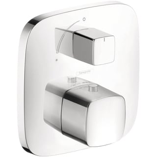 Hansgrohe PuraVida Thermostatic Chrome Shower Trim with Volume Control