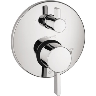 Hansgrohe S Pressure Balance Chrome Trim with Diverter