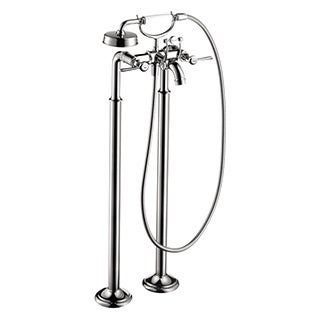 Axor Montreux Free Standing Chrome Tubfiller with Lever Handle