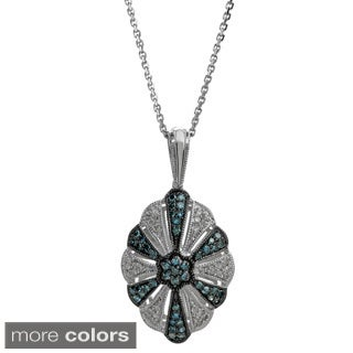 Sterling Silver 2/5ct TDW Diamond Pendant (H-I, I2-I3)